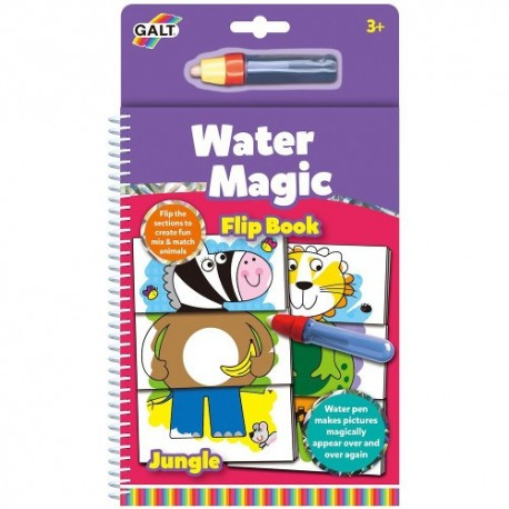 Carte de Colorat Water Magic - Animale din Jungla