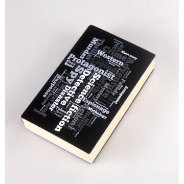 Coperta Neagra imprimata pentru carti
