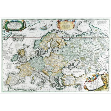 Harta Europa Antica mapa de birou