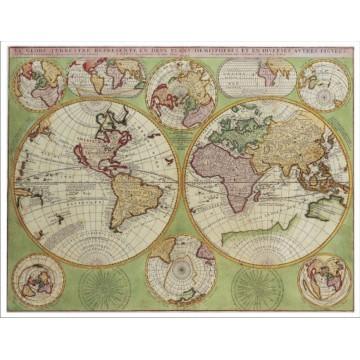 Harta Lumea Antica mapa de birou
