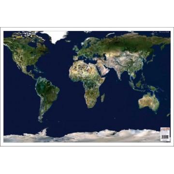 Harta Lumii Imagine din satelit mapa de birou