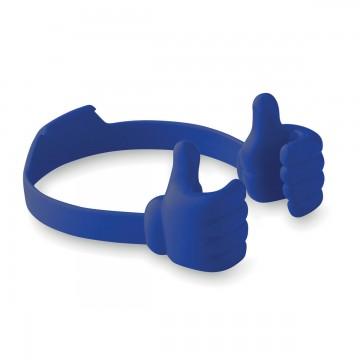 Suport smartphone maini albastre