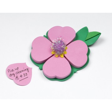 Biletele adezive Petale roz