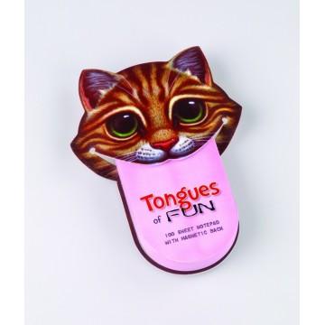 Carnetel amuzant - Limba de pisica