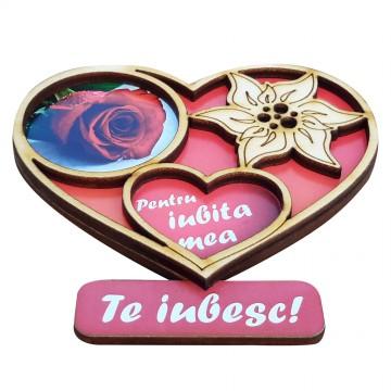 Magnet inimioara pentru iubita mea
