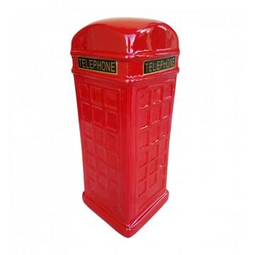 Pusculita cabina de telefon, ceramica