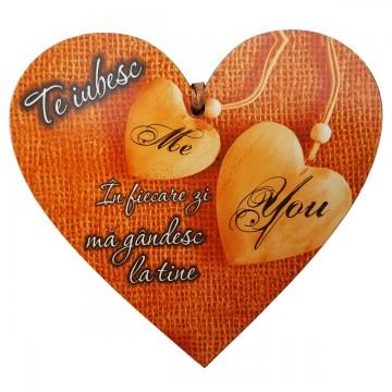 Tablita Me & You, din lemn