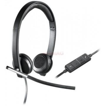 Casti USB Logitech H650e Stereo