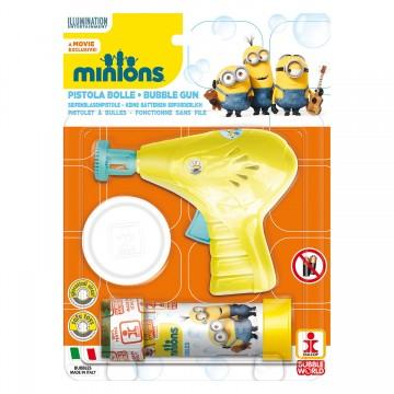 Minions - Pistol baloane de sapun