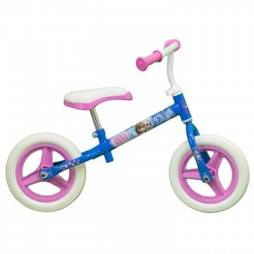 Bicicleta fara pedale Tiomsa Disney Frozen,10 inch