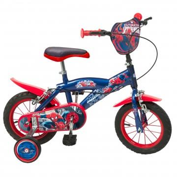 Bicicleta copii Spiderman 12 inch