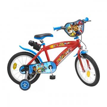 Bicicleta copii Paw Patrol - 16 inch