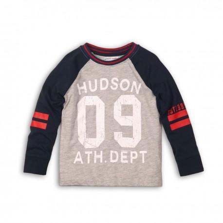 Bluza maneca lunga cu imprimeu Minoti Hudson M318H015