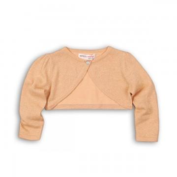 Cardigan scurt cu tricot fin de lurex Minoti