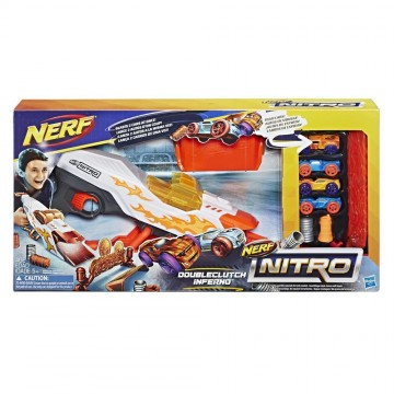 Blaster Nerf Nitro Doubleclutch Inferno