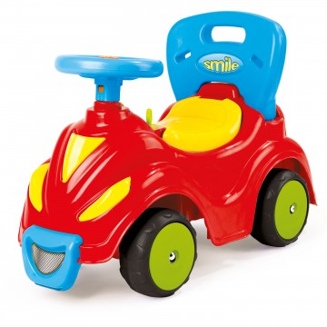Masinuta fara pedale 2 in 1 Dolu Smile Car, rosu