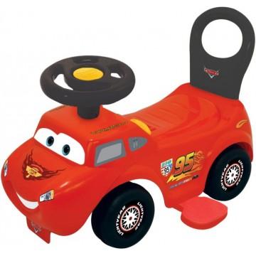 Masinuta fara pedale 2 in 1 Kiddieland - Disney Cars Lightning McQueen