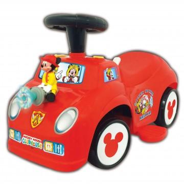 Masinuta fara pedale Kiddieland - Masina de pompieri a lui Mickey Mouse