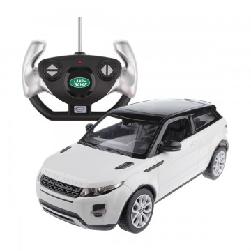 Masina cu telecomanda Rastar Range Rover Evoque 1:14, Alb