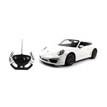 Masina cu telecomanda Rastar Porsche Carrera S 1:12, Alb
