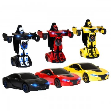 Masina cu telecomanda Rastar RS X MAN Transformer 1:14