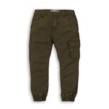 Pantaloni cargo cu buzunare laterale Minoti Yay M318L003