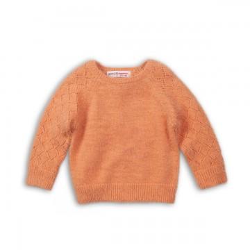 Pulover tricotat cu maneci din raglan Minoti
