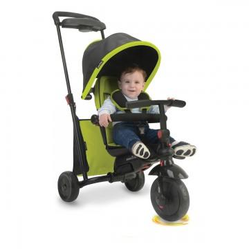Tricicleta copii Smart trike, Fold 500 Verde