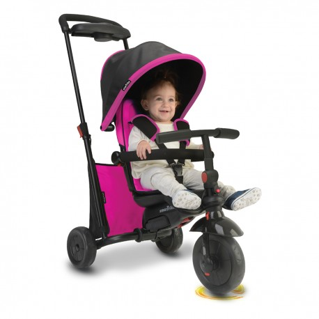 Tricicleta copii Smart Trike, Fold 500 Roz