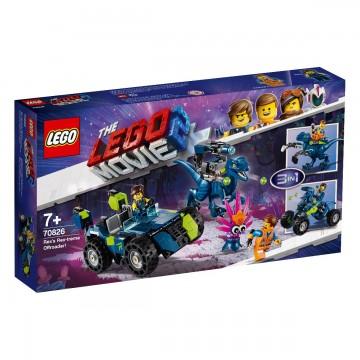 LEGO® Movie - Masina de teren rextrema a lui Rex (70826)