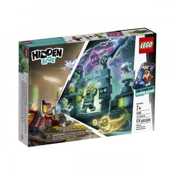 LEGO® Hidden Side™ - Laboratulul cu fantome al lui J. B. (70418)