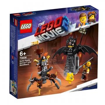 LEGO® Movie - Batman™ si Barba metalica (70836)