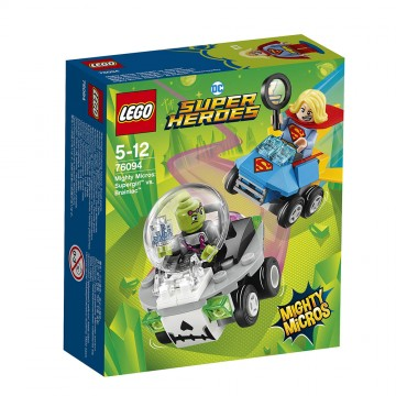 LEGO® DC Super Heroes Mighty Micros - Supergirl contra Brainiac (76094)