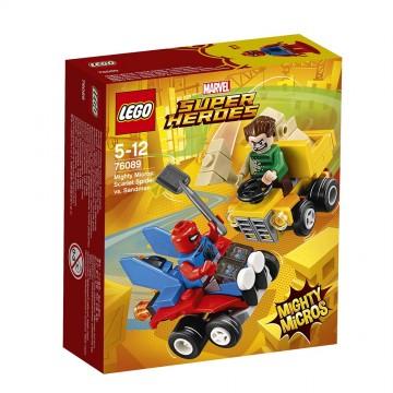LEGO® Marvel Super Heroes Mighty Micros - Scarlet Spider contra Sandman (76089)