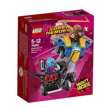 LEGO® Marvel Super Heroes Mighty Micros - Star-Lord contra Nebula (76090)