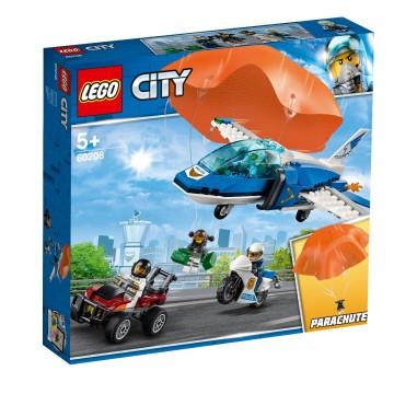 LEGO® City - Arest cu parasutisti al politiei aeriene (60208)