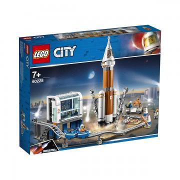 LEGO® City Space Port - Racheta pentru spatiul indepartat si centrul de comanda (60228)