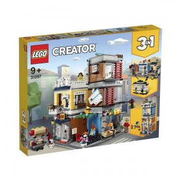 LEGO® Creator™ - Magazin de animale si cafenea (31097)