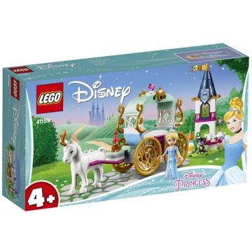 LEGO® Disney Princess™ Calatoria Cenusaresei cu trasura (41159)