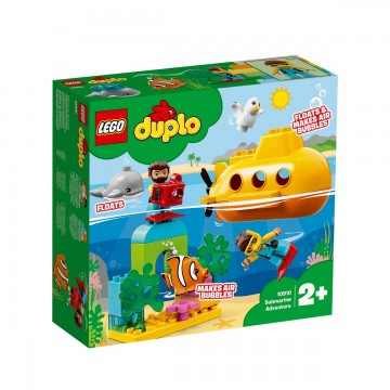 LEGO® DUPLO® Town - Aventura cu submarinul (10910)