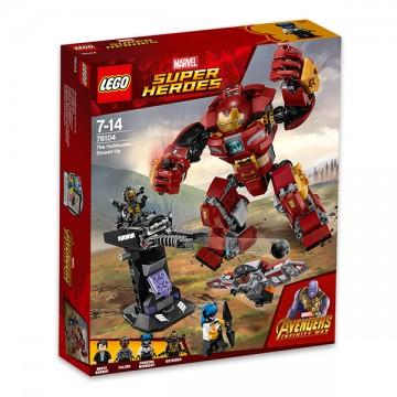 LEGO® Marvel Super Heroes - Distrugerea lui Hulkbuster (76104)