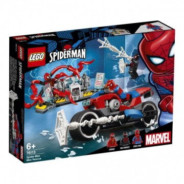 LEGO® Marvel Super Heroes - Urmarirea cu masina a lui Spider-Man (76133)
