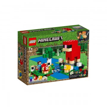 LEGO® Minecraft™ - Ferma de lana (21153)