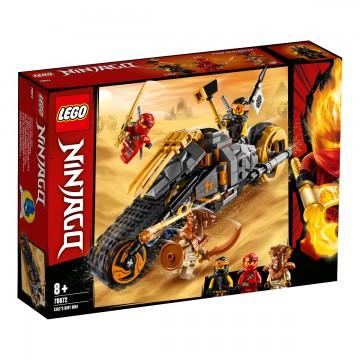 LEGO® NINJAGO® - Motocicleta de teren a lui Cole (70672)