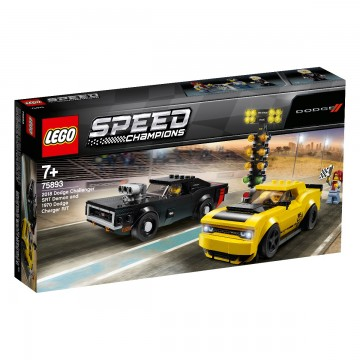 LEGO® Speed Champions - 2018 Dodge Challenger SRT Demon si 1970 Dodge Charger R/T (75893)