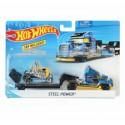 Set camion si masina sport, Hot Wheels Steel Power