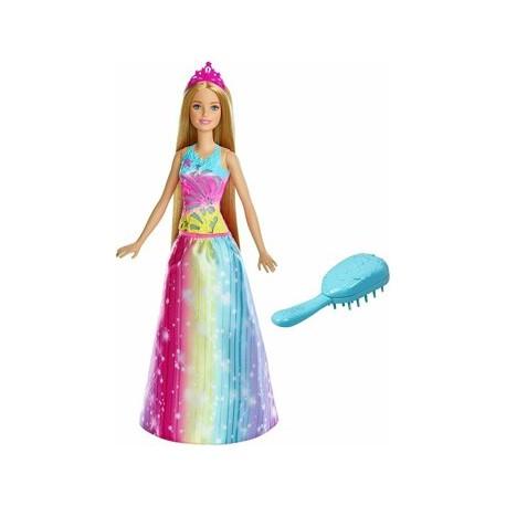 Papusa Barbie Dreamtopia cu perie magica