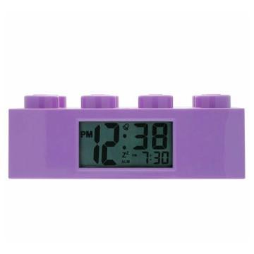 LEGO, Ceas cu alarma - Caramida mov