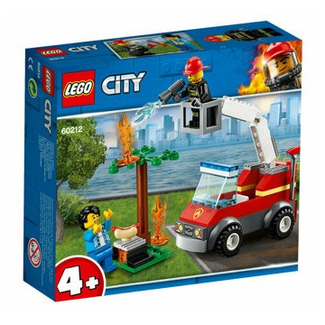 LEGO City, Stingerea incendiului de la gratar 60212