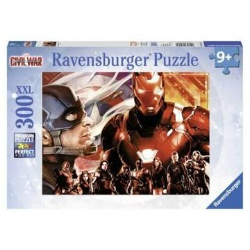 Puzzle Captain America vs. Iron Man, 300 piese XXL